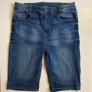 dip Boys Youth Stretch Denim Shorts